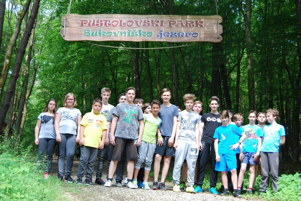 Pustolovski park Bukovniško jezero/Bakonaki-tó kalandpark (2015/2016)