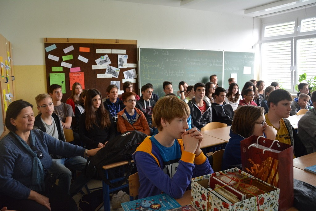 Obisk učencev iz šole Oladi Általános Iskola Szombathely (2015/2016)
