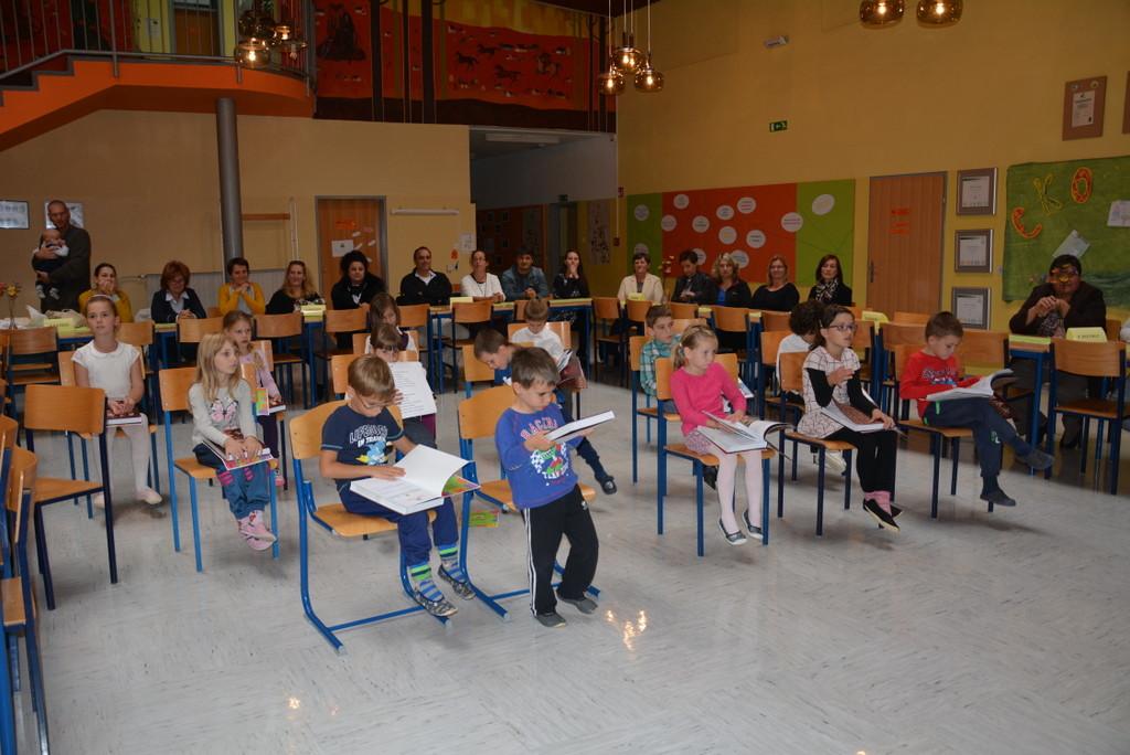 Sprejem v šolsko skupnost/Az elsősök beavatása az iskolai közösségbe (2016/2017)