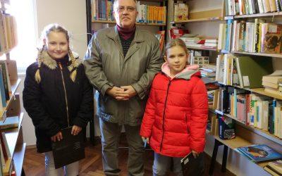 Obisk krajevne knjižnice v Prosenjakovcih